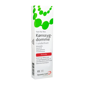 Test for klamydia, mykoplasma, gonorré, trikomonas for kvinder