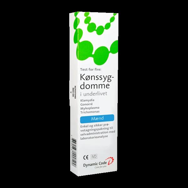 Test for klamydia, mykoplasma, gonorré, trikomonas for mænd