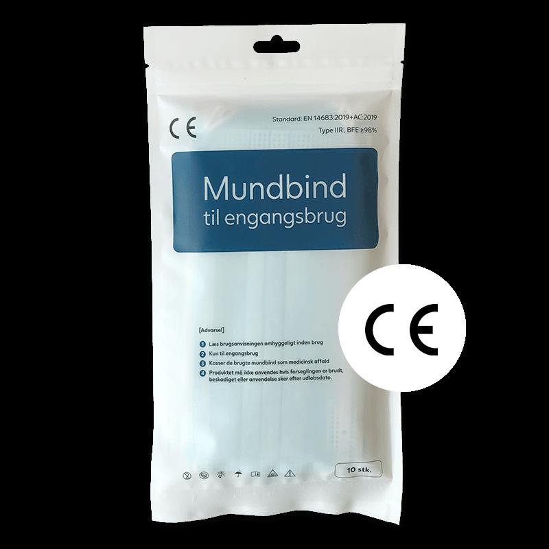 Mundbind type IIR 10 stk