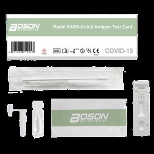 Boson coronatest